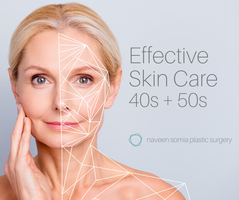 Effective Skin Care in Your 40's and 50's